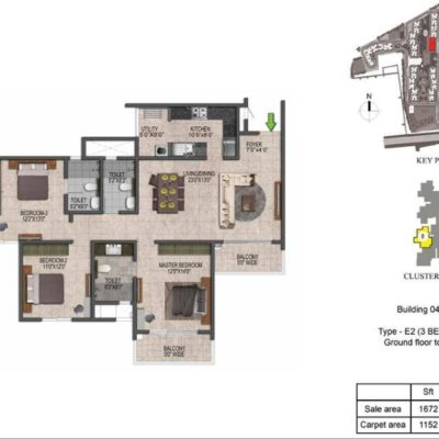 prestige-jindal-city-3-bedroom-plans